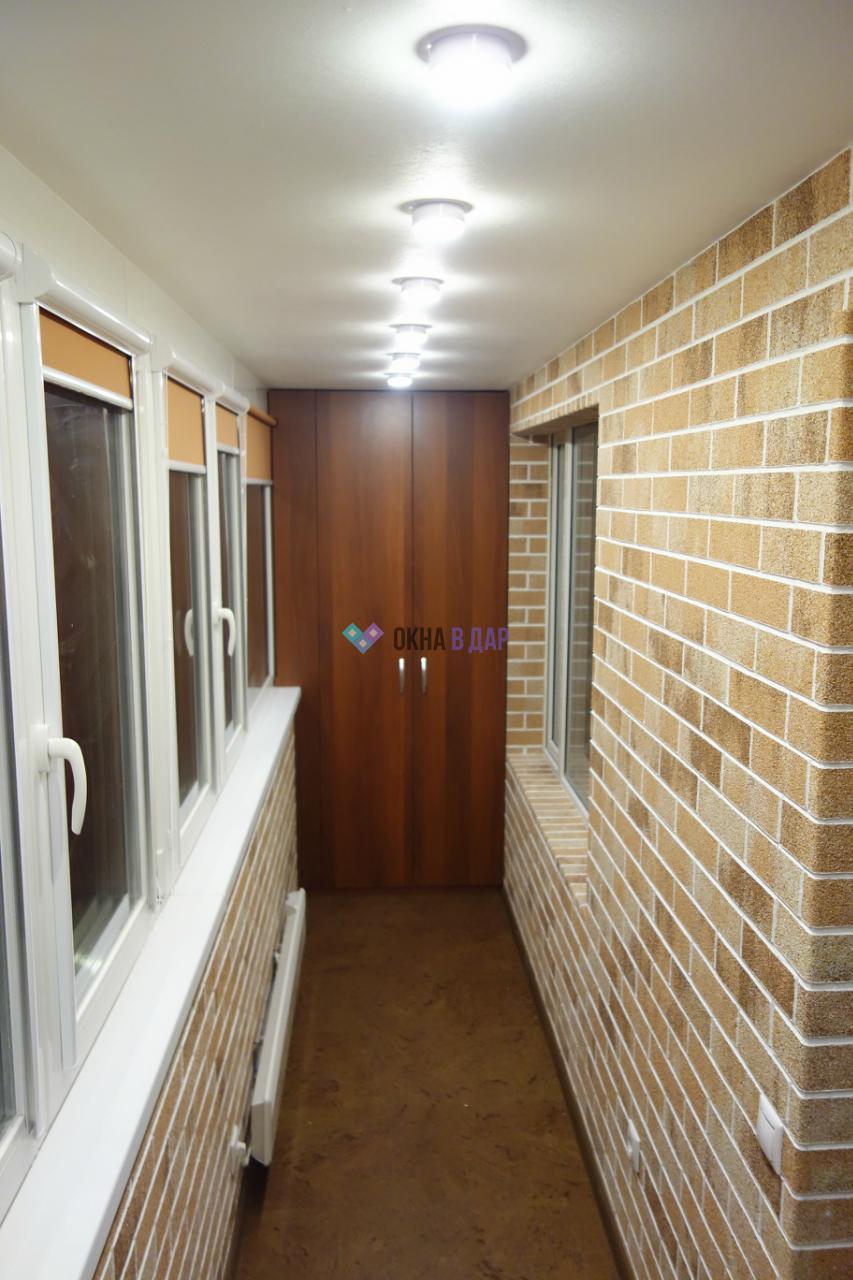 Комплексная отделка балконов и лоджий с утеплением - отделка.